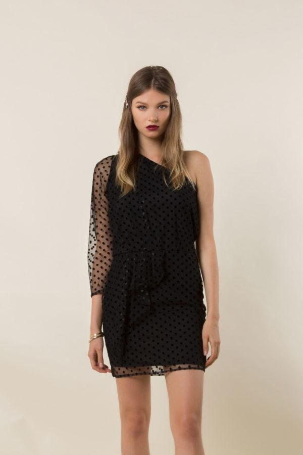 Anna One-Should Dress