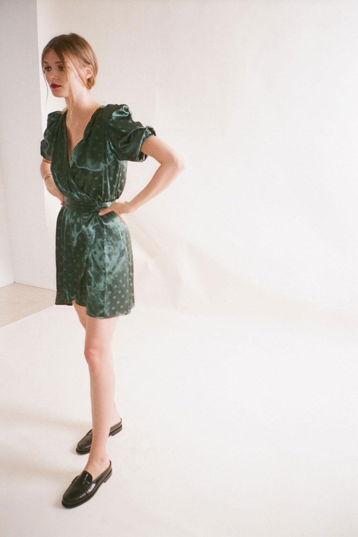 Lotta Green Party Dress