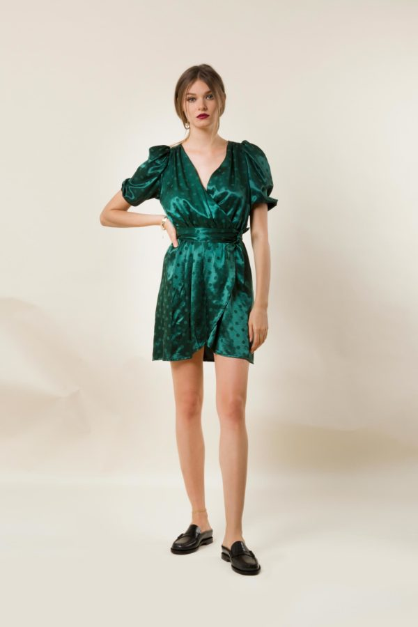 Lotta Green Party Dress