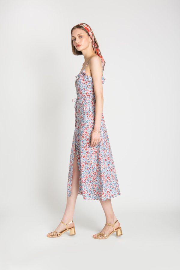 Emma Ruffle Dress