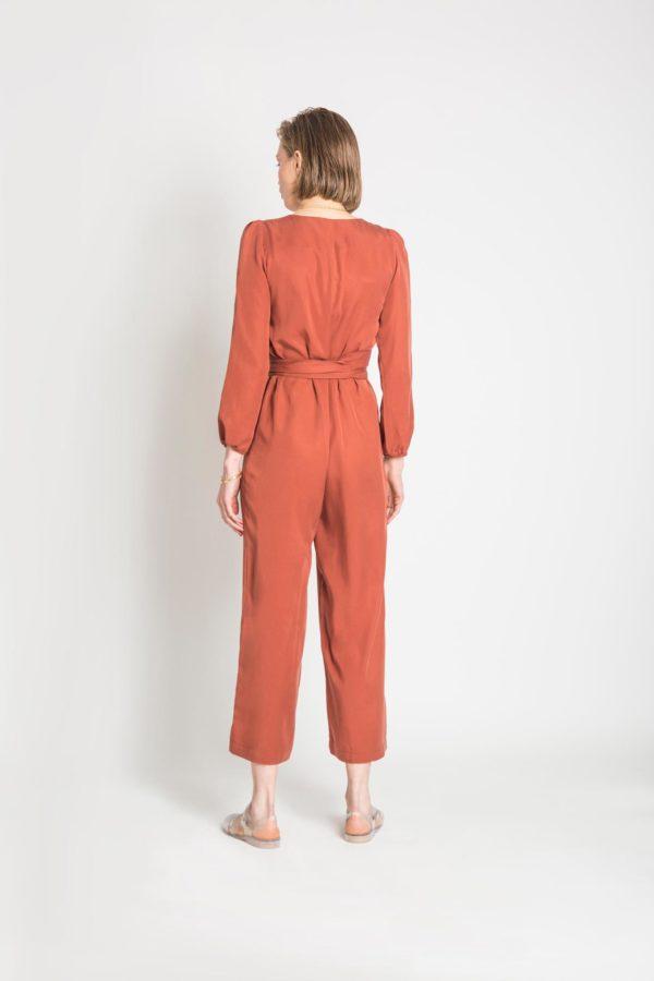 Ekavi Belted Jumpsuit