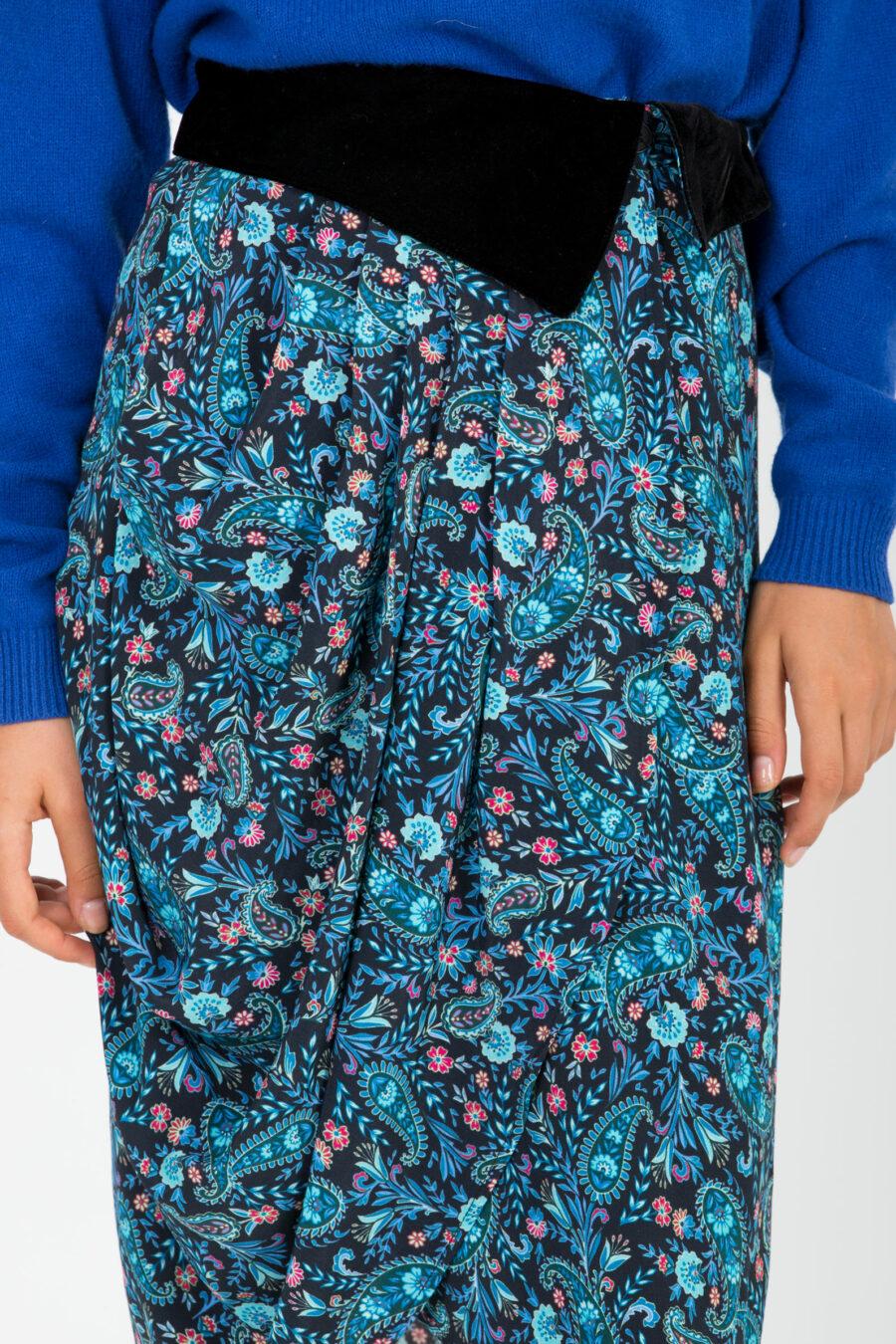 Anais Blue Skirt