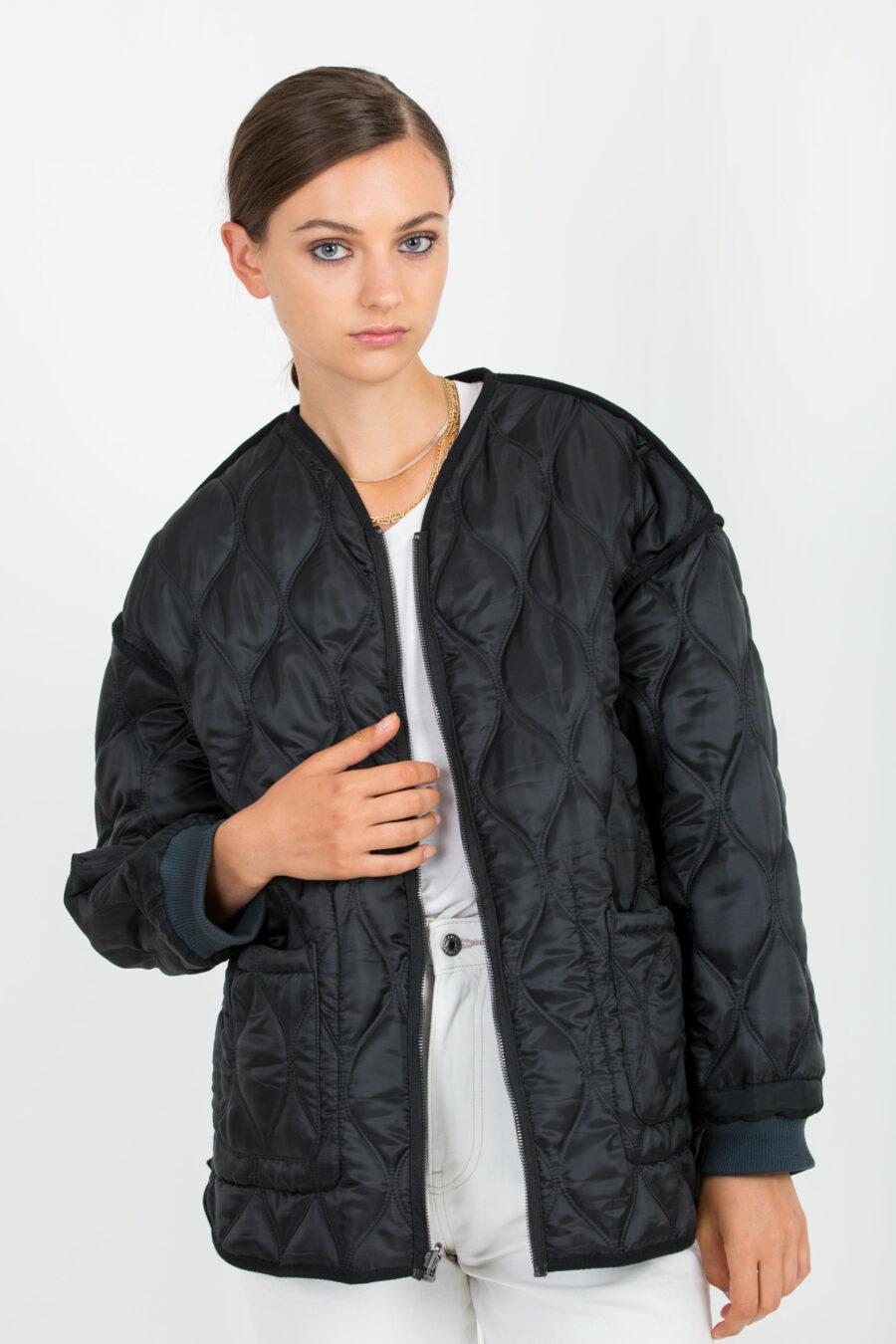 Alex Quilted Black Jacket