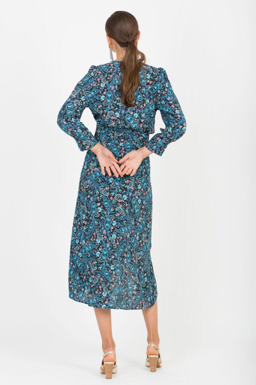 Valentina Blue Dress
