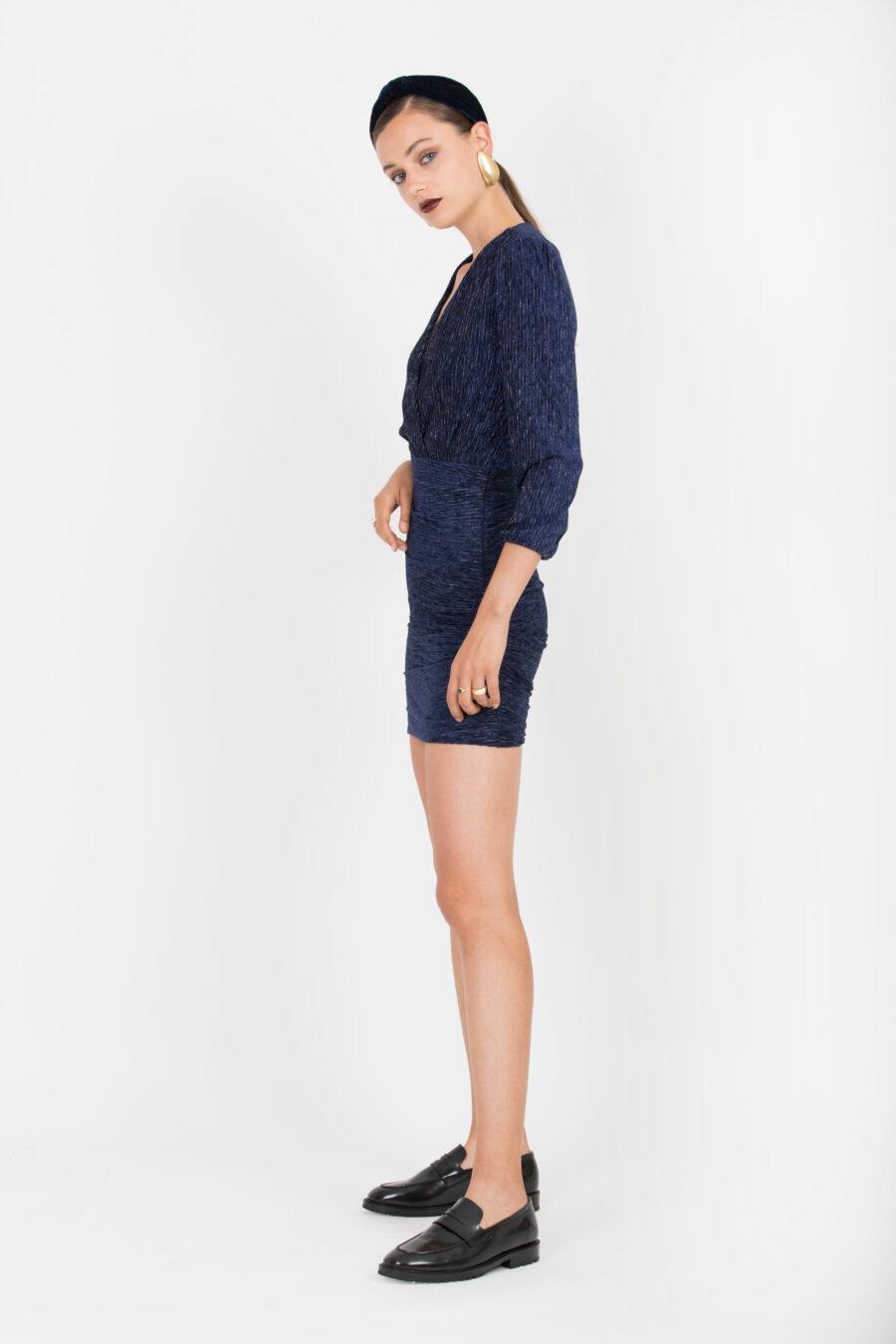 Donna Dark Blue Dress