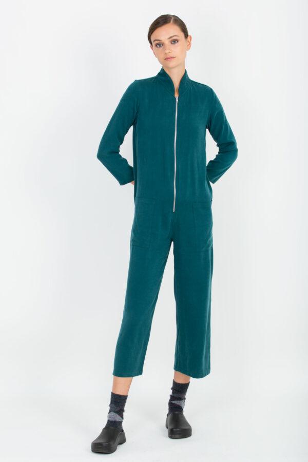 Filippa Petrol Green Jumpsuit