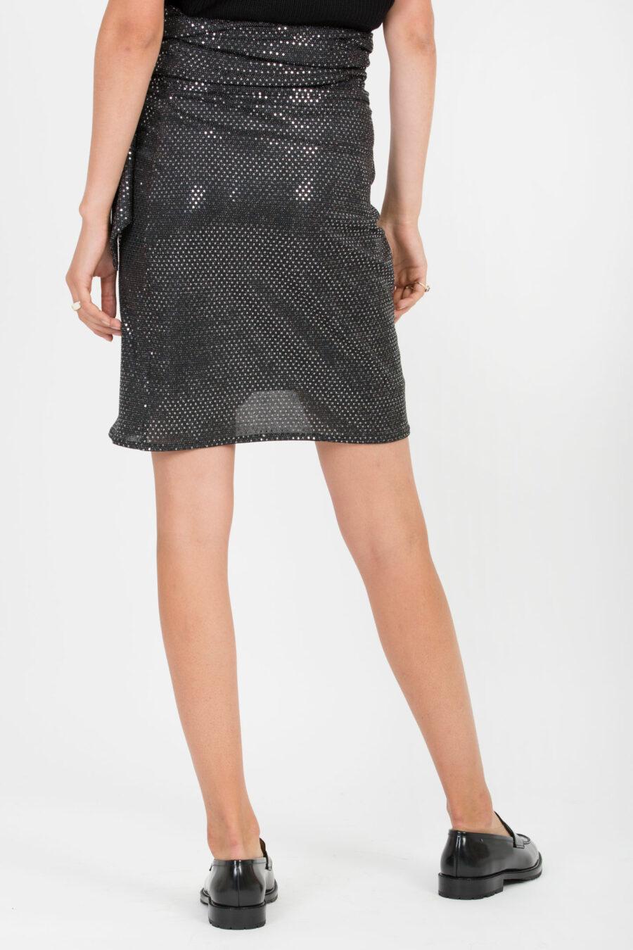 Linda Metallic Skirt